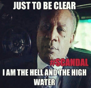Papa Pope is the scariest man ever....