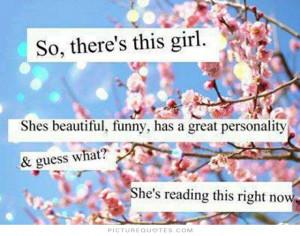 Funny Quotes Beautiful Quotes Girl Quotes Reading Quotes Personality ...