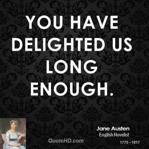 When Youve Had Enough