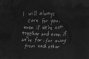 Far Away Sad Love Quote