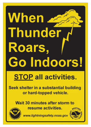 NOAA's annual lightning safety campaign offers lifesaving resources ...