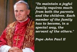 Pope john paul ii famous quotes 5