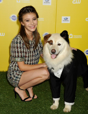 2015 G Hannelius in Dog Awards