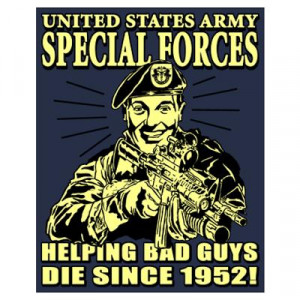 Special Forces - 1952 Poster