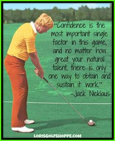... winning a total of 18 career major championships! #golf #quotes #