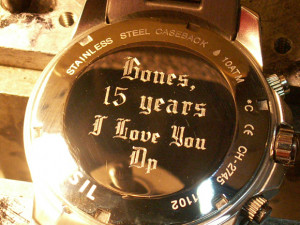 Watch Engraving Quotes