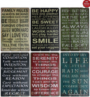 Home & Garden > Home Decor > Plaques & Signs
