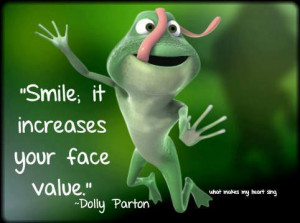 Smile! It increases your face value