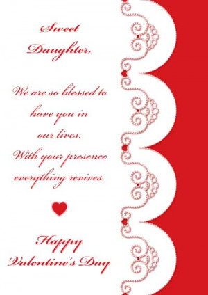 happy valentines day quotes for daughters quotesgram
