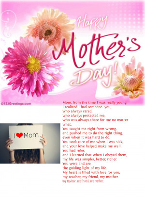 Happy Mothers Day Quotes For Sister #mother's #day #quotes mothers
