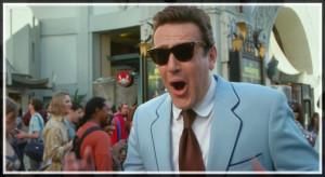 Jason Segel, In a blue suit? Lawyer'd