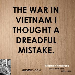 Stephen Ambrose War Quotes