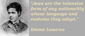 Emma Lazarus famous quotes