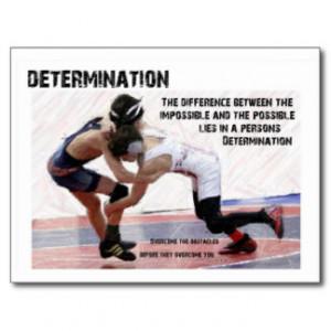Wrestling Determination Quotes