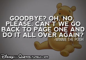 movie film book cinema quotes goodbye disney movie quotes