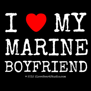 title i love heart my marine boyfriend text i my marine boyfriend ...