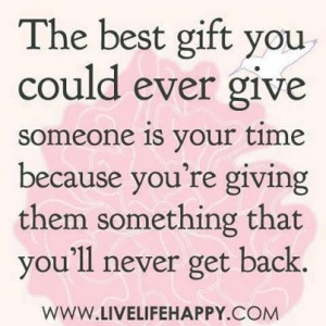 ... re Giving them Something That You'll Never Get Back ~ Kindness Quote