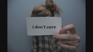 blonde, cliche, girl, i dont care, quote