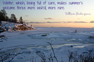 Shakespeare quote about winter
