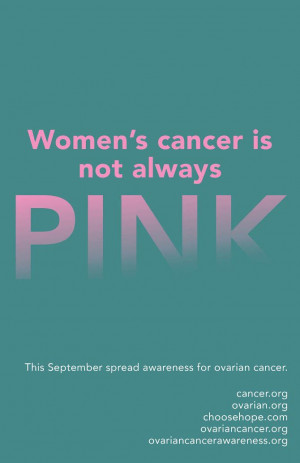 Ovarian Cancer Awareness.....You were so strong and courageous during ...
