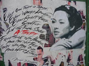 Roger Waters - Street Artist.