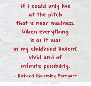 If ...Richard Ghormley Eberhart