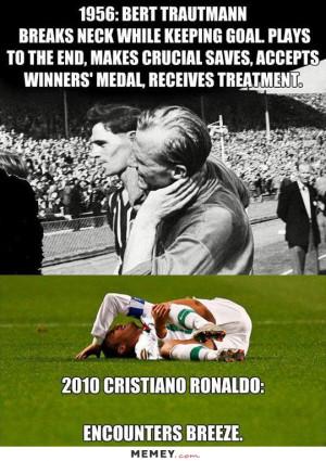 funny soccer injury