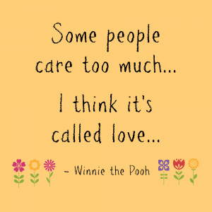 Winnie The Pooh And Piglet Quotes About Love .