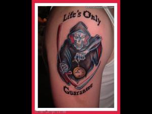 Death Grim Reaper Tattoo Designs Quotes Picture #13450