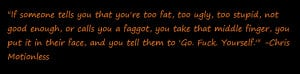 Fave Quote By Chris Motionless, Leadsinger Of MIW by DarkValentine13