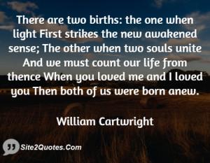 Romantic Quotes - William Cartwright