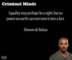 ... can ever turn it into a fact. Honore de Balzac said by Derrick Morgan