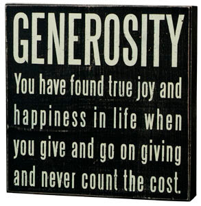 Generosity Quotes http://wildappledesign.blogspot.com/2011/05/tuesday ...