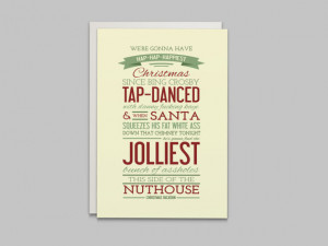 Christmas Vacation Movie Quote - Holiday Card - Instant Download PDF ...