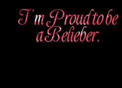thumbnail of quotes I\'m Proud to be a Belieber.