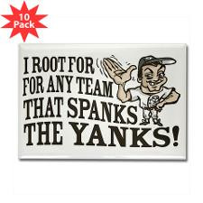 Anti Yankees Fridge Magnets