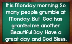 Funny Monday Morning Quotes