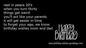 30th Birthday Funny Sayings 30th birthday poems and quotes