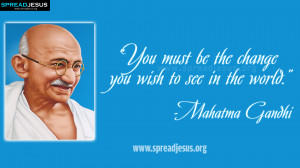 Mahatma Gandhi INSPIRING QUOTES-HD-WALLPAPERS DOWNLOAD-spreadjesus.org ...
