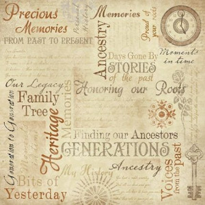 Ancestry Quotes for Scrapbooking | ... Index Gt Family Memories ...