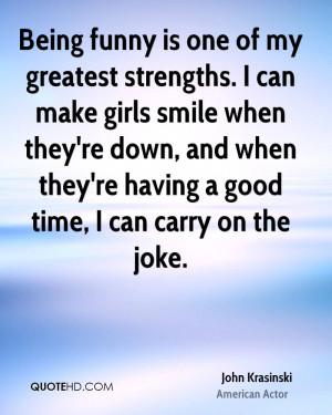 John Krasinski Funny Quotes
