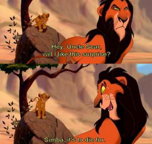 lion king, scar, simba