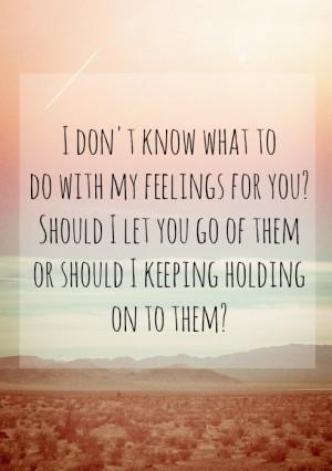 Feelings Quote Quotes Love Favim