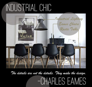 fact that modern spaces can look fantastic with elements of industrial ...