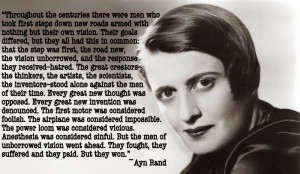 Engineering Quote of the Week - Ayn Rand