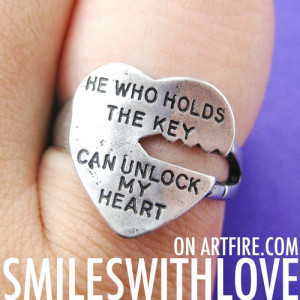 love_quote_key_ring_silver_-_he_who_holds_the_key_can_unlock_my_heart ...