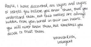 Divergent And Insurgent Quotes Roth #divergent #insurgent