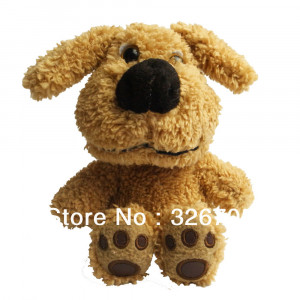 animal Toy dog Repeats Back What You Say Talking plush toy Talking Dog ...