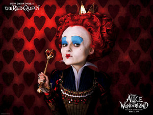alice wonderland red queen quotes