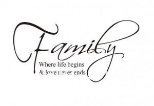 Family-House-motto-Modren-Romantic-Word-loving-Quotes-Wall-Sticker ...